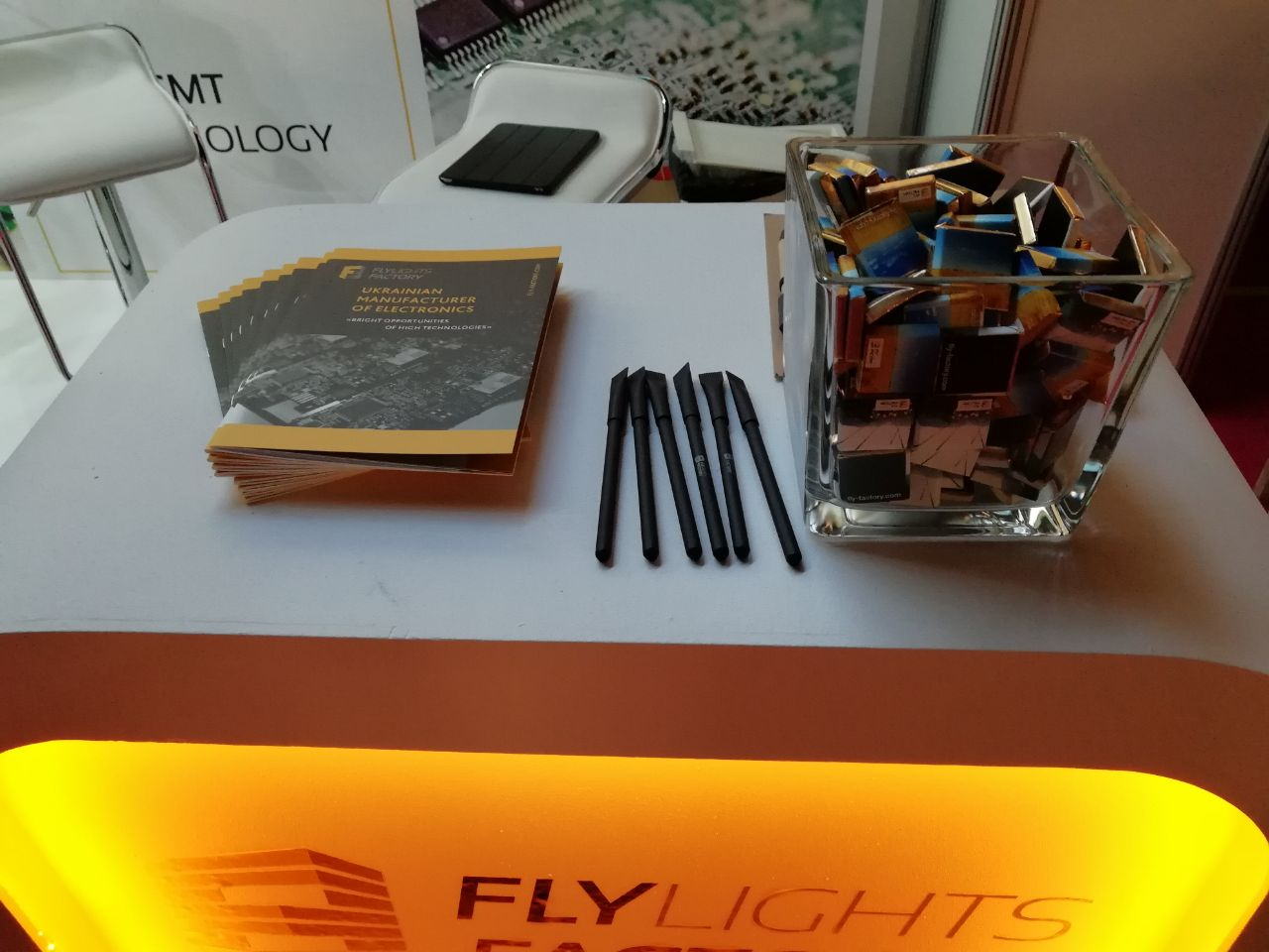 Flylights Factory на виставці ISE 2018